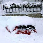 Image for the Tweet beginning: Huge #snow hits parts of