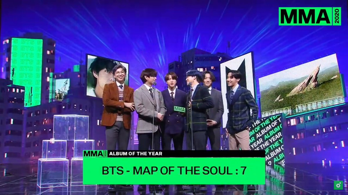 Congratulations to BTS for winning Top 10 Artist at the 2020 Melon Music Awards😭😭 #MMA2020 My Top 5 Artists of 2020 #3Hot100SongWriterRM Worldwide Fans