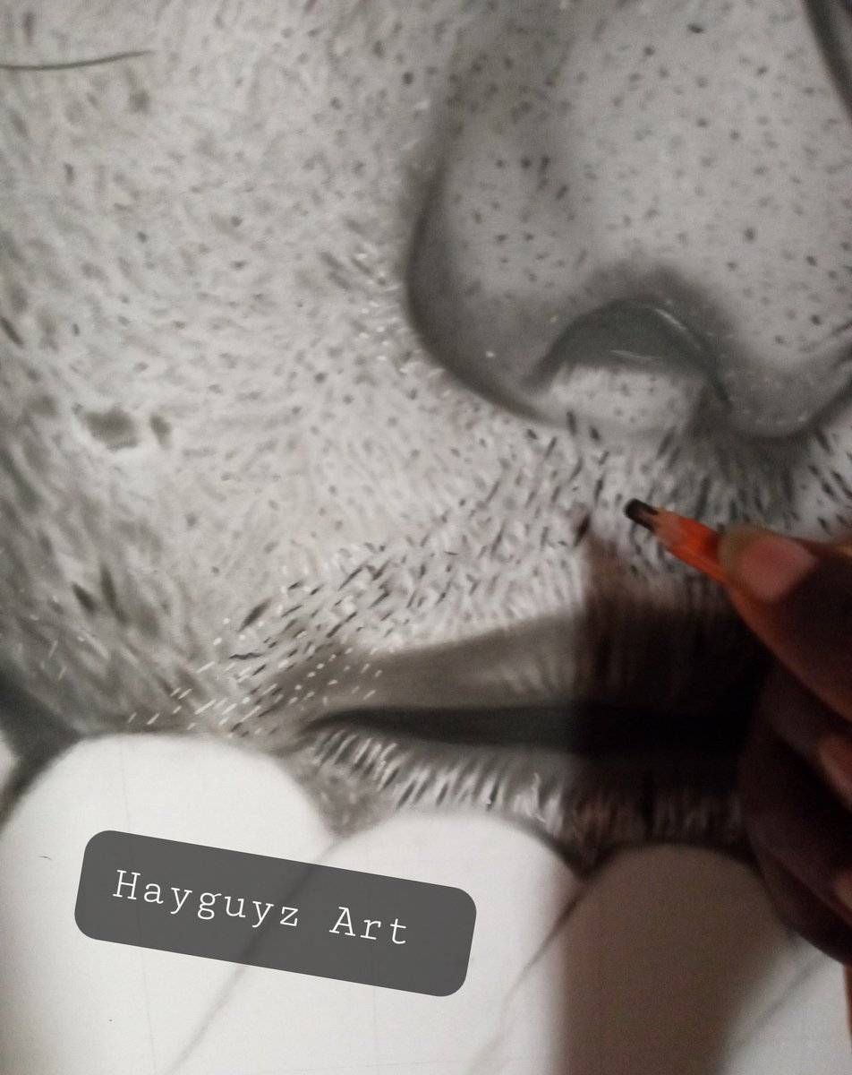 Hy, so I recently just commenced a portrait drawing of a celebrity one whose style is unique... will unveil his personality soon. #hyperrealism #ArtistOnTwitter  #FolloForFolloBack  #follobackinstantly  #commissionsopen  #follobackforfolloback  #RETWEEET https://t.co/i4YTzrMhwP