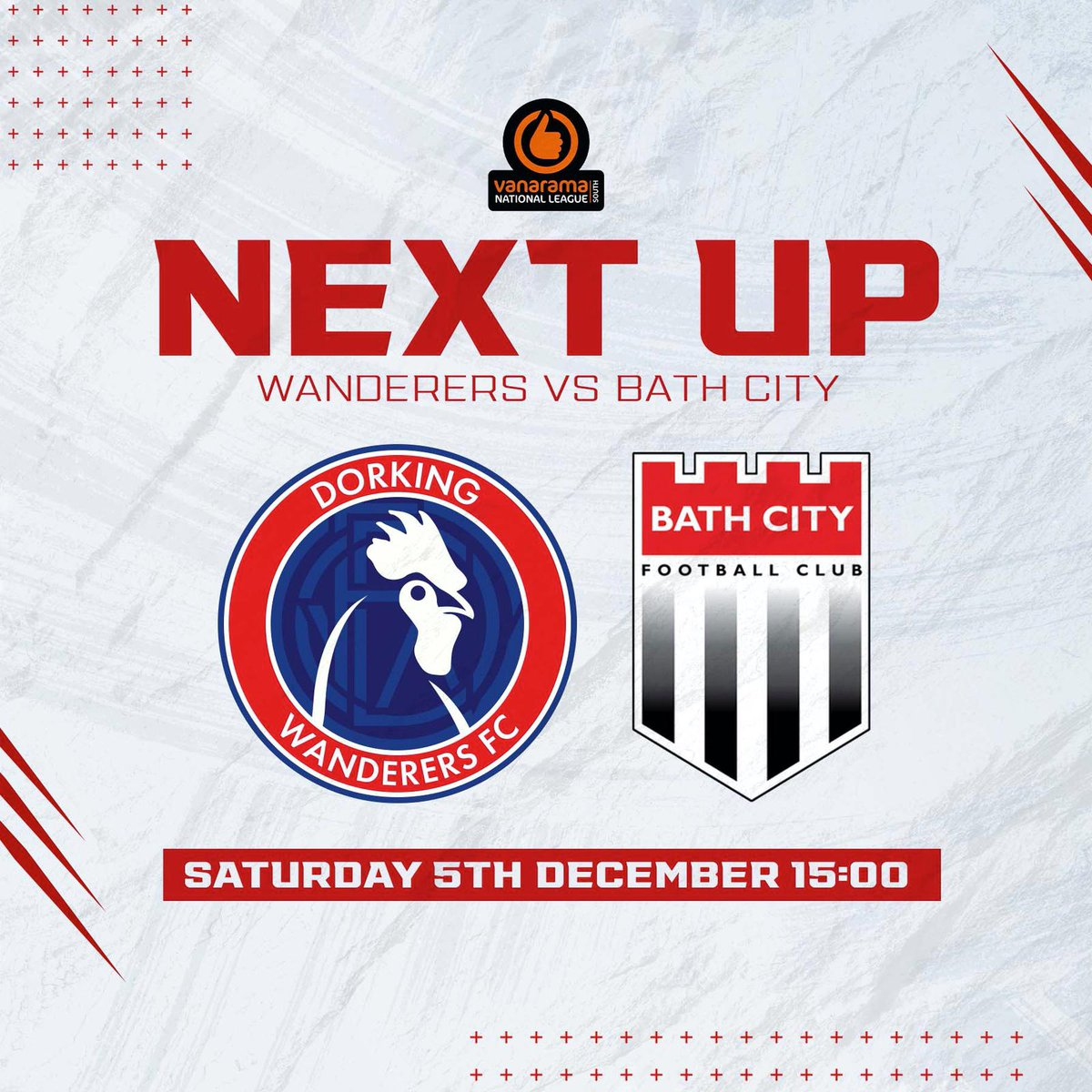 Today's game between @DorkingWDRS v @BathCity_FC may have sold out but don't despair we are streaming the game live, with commentary and it's only a fiver. Go to the website and follow the link and don't miss a kick. #livefootball #livecommentary #FansAreBack #Livestream