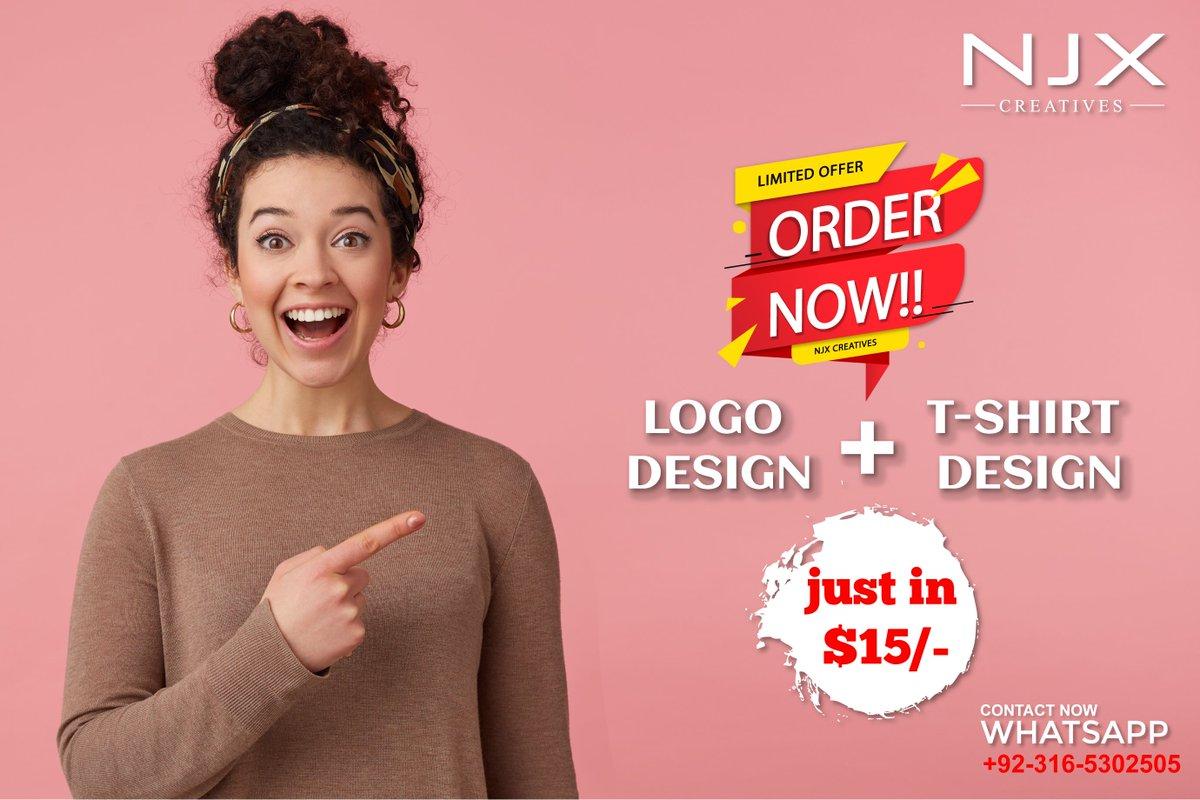 WEEKEND OFFER Get You Logo and T Shirt Design in just $15 . . . #weekend #GraphicDesign #DigitalMarketing #earthquake #Jayalalitha #LateLateShow #prayformedan #yograjsingh #coronavirus #Corona @fiverr @Upwork @freelancer