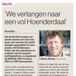 In #ADUN: @dalto_korfbal verlangt naar een vol Hoenderdaal, ook als de Korfbal League in het nieuwe jaar uit twee poules bestaat en er zonder publiek moet worden gespeeld #korfbal