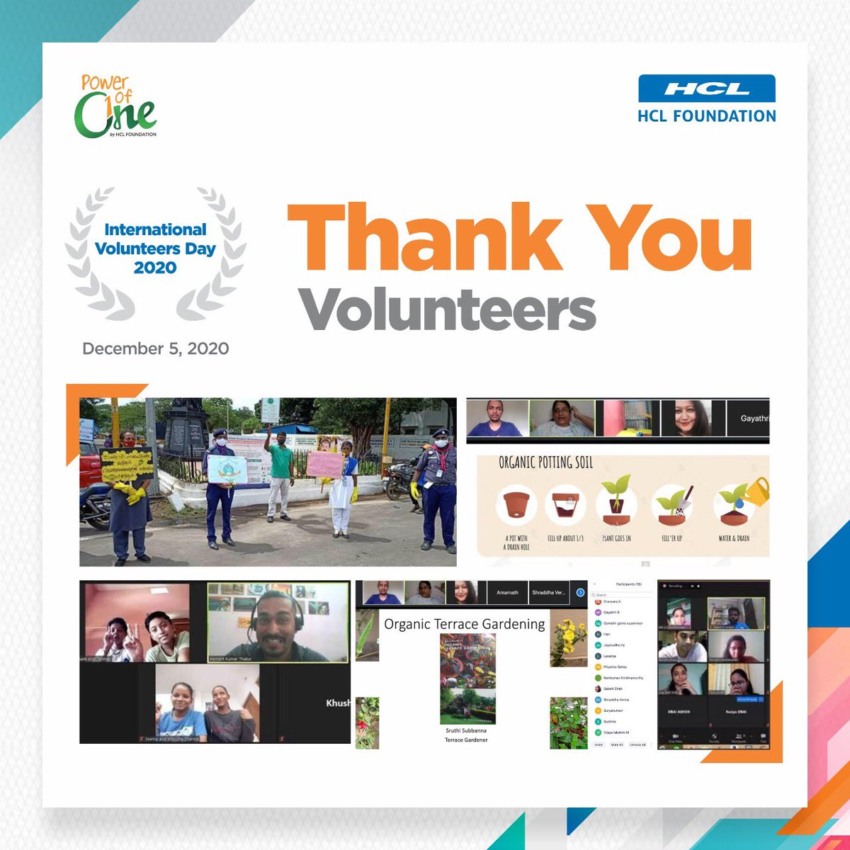 The pandemic could not deter the commitment and spirit of our enthusiastic volunteers!  This International Volunteer Day, we extend a heartfelt gratitude to our volunteers for their continuous efforts and contributions during these difficult times.  #InternationalVolunteerDay