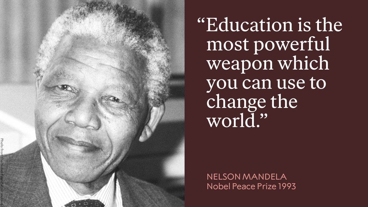 We remember a wise man, Nelson Mandela, who passed away on this day in 2013.