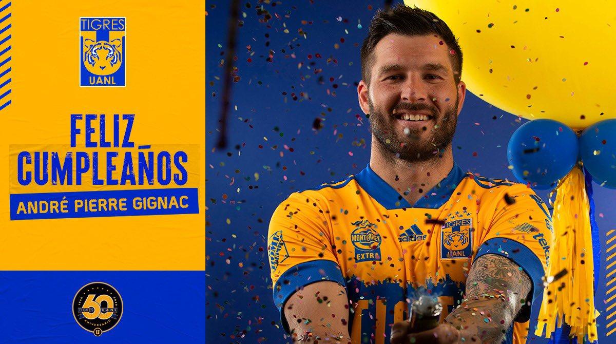 🎊🎂 ¡Hoy felicitamos a @10APG en su aniversario! 🥳 ¡Que los cumplas feliz, goleador! ⚽️  ¡Dejen aquí su mensaje! 😉📥  #PerfilTigre 💪🏼 #EstoEsTigres 🐯 https://t.co/2dq8ZW58ac