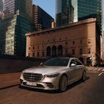 Image for the Tweet beginning: The new S-Class takes care