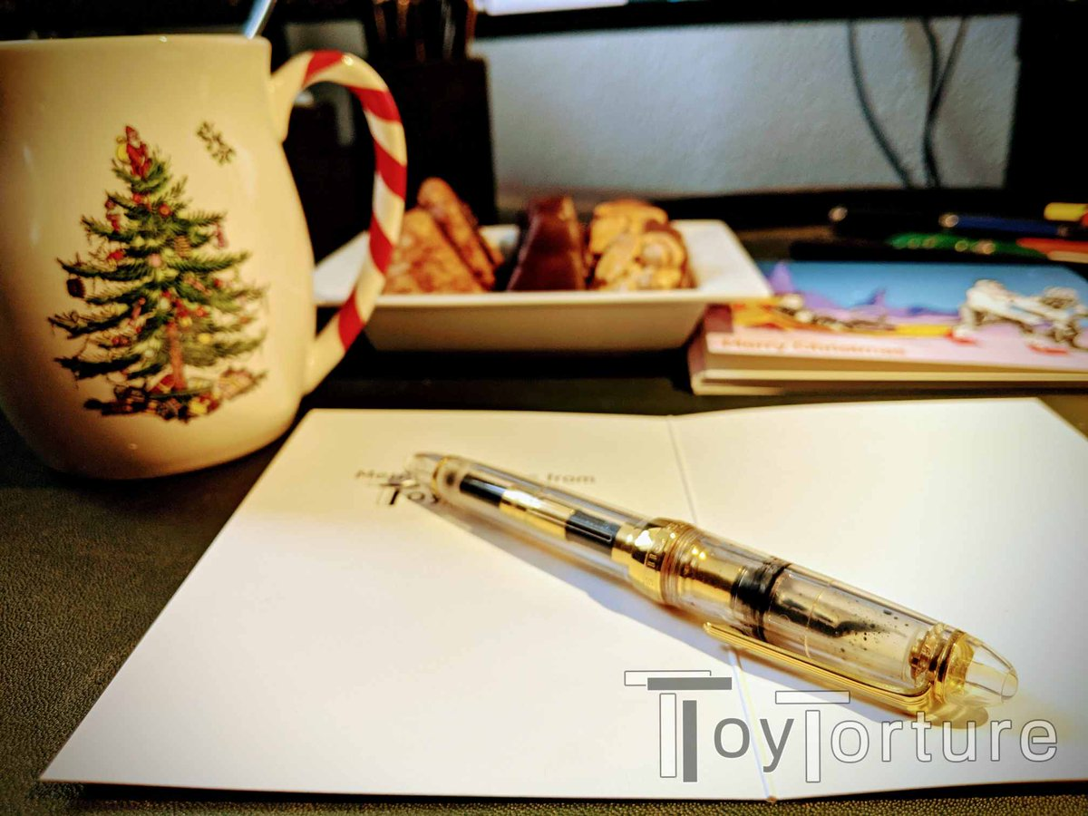 test Twitter Media - Tea & Christmas cookies? ✅ Fountain pen? ✅ Cards with motive from @SpacePupSilver fresh from the printer? ✅ Let the Christmas card writing begin 😃 https://t.co/stnaNAIRMa