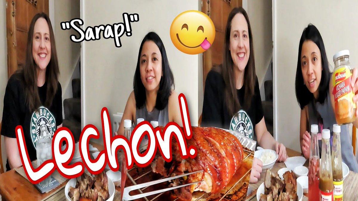 ‼New vlog alert‼ Come join us for lechon 😍🤗 🎥⬇️   #lgbt #LGBTQ #Filipino #filipina #uk #mukbang #SaturdayVibes #vlog #YouTube #Foodie #fun #Philippines