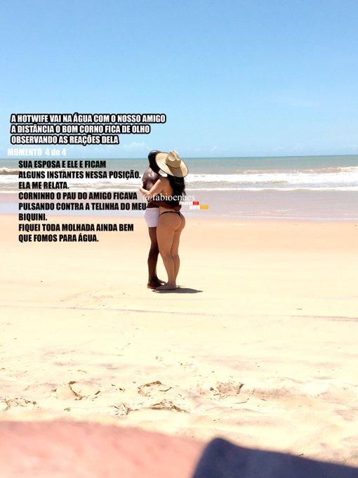 4 pic. Domingo Passado  #sharedwife #Hotwife #milf #withewoman #cuckoldress #cornomansobr  #cuckolding