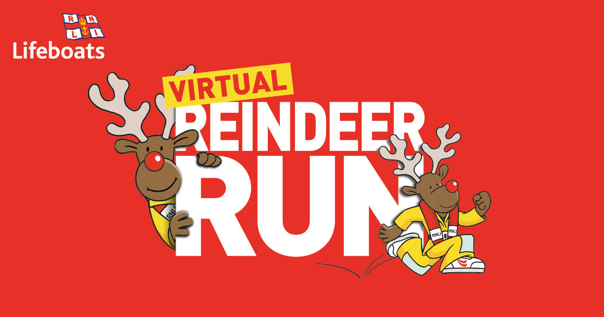Get your antlers & running shoes ready for the virtual RNLI #ReindeerRun & help save lives at sea. This festive RNLI run takes place on Saturday 12 and Sunday 13 December, and is for people of all ages to run or walk either 1k, 5K, or 10K.  Sign up today! https://t.co/GQ6GCSVtPT
