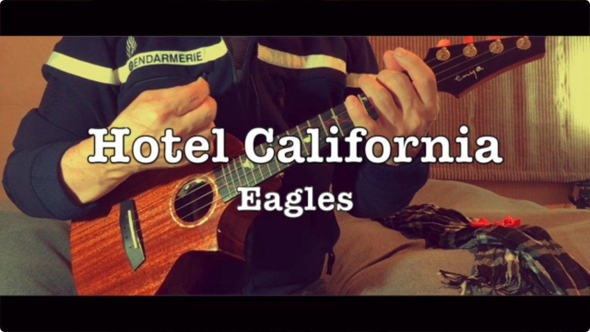 ↓ ロック史上に燦然と輝く名曲をウクレレ弾き語りでカバーしてみました。  💿  #m6 #eagles #UkehouseMusic