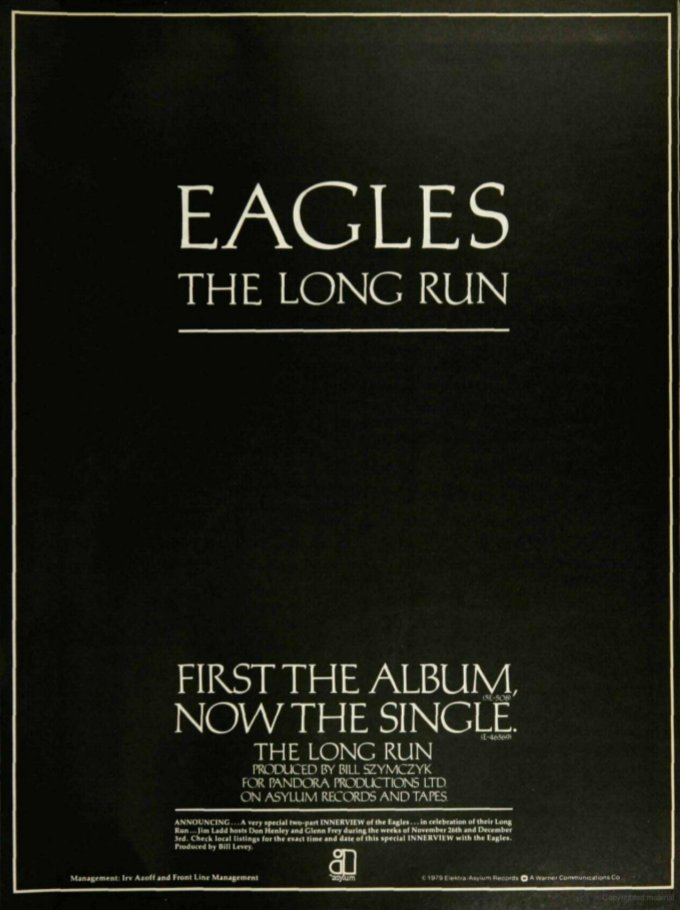 Billboard AD December 1, 1979  #Eagles #TheLongRun  ♬︎I Can't Tell You Why  @retoro_mode