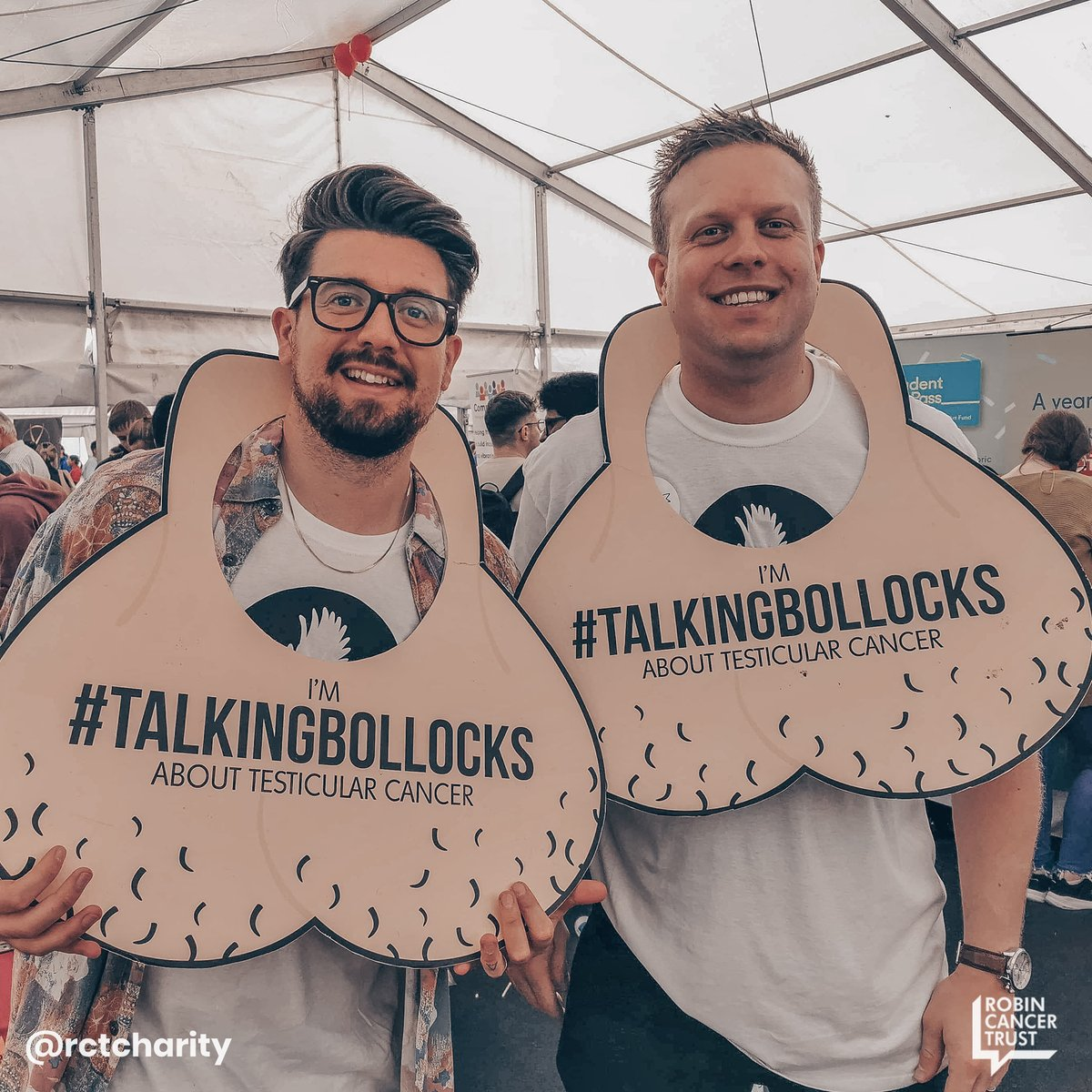 Ball-brothers 🤓😃  Learn how to check yours now:  🍒👌  #talkingbollocks #testicularcancer