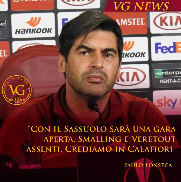 #RomaSassuolo