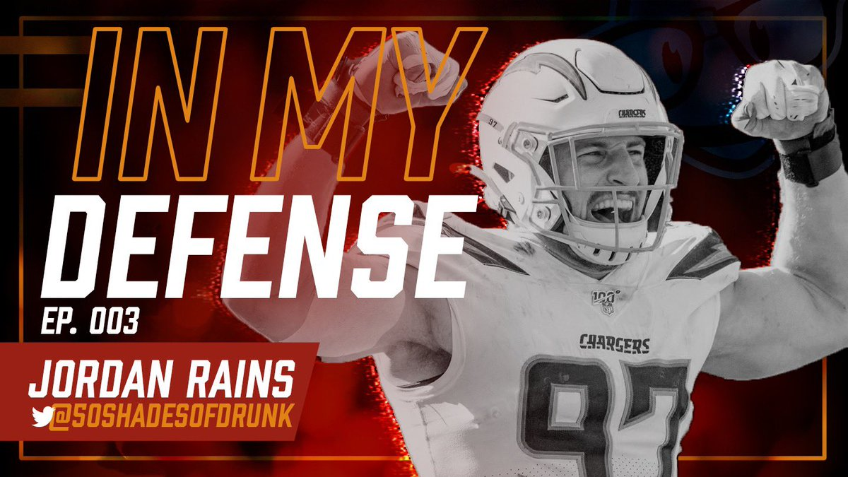 In My Defense is back with episode 3 from @50shadesofdrunk covering the outlook for the fantasy playoffs!  📺