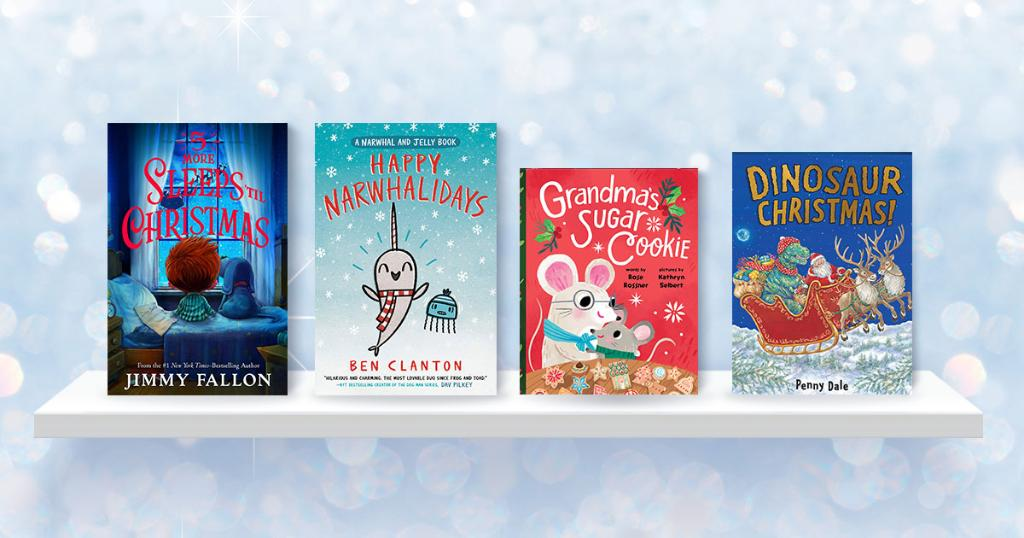 So many fun new children's Christmas books to read this year, including the latest from @jimmyfallon :