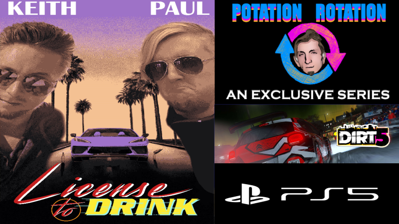 Today is #DIRT5 on the #PS5. A game by #Codemasters, it is the 14th game in the #ColinMcRaeRally series & the 8th game to carry the Dirt title. LINK:  #drinking #driving #racinggames #drivinggames #videogames #gaming #games #potationrotation #licensetodrink