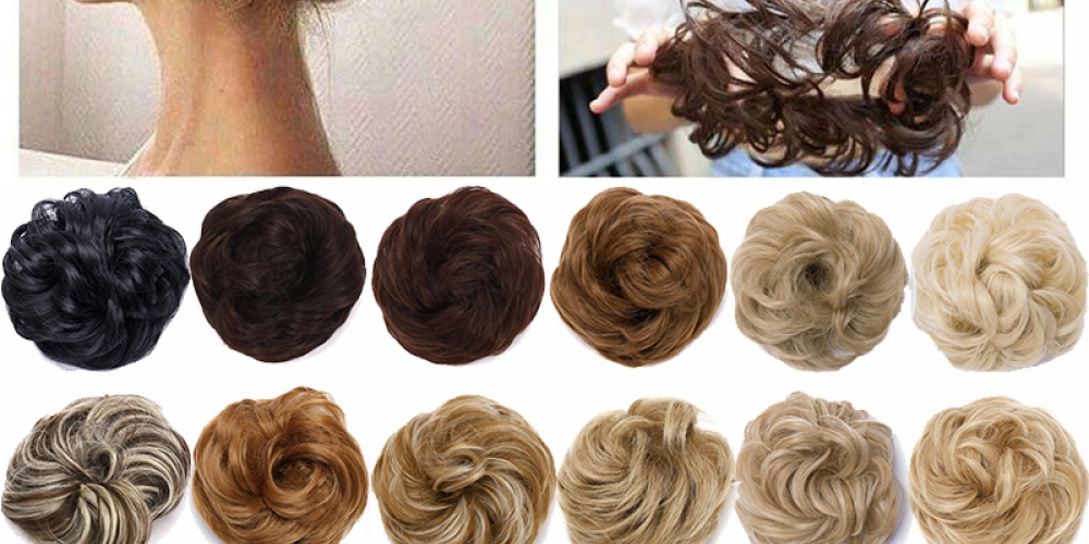 #BESTSeller #tagsforlikes Messy Hair Bun Scrunchy Curly Hair Chignon