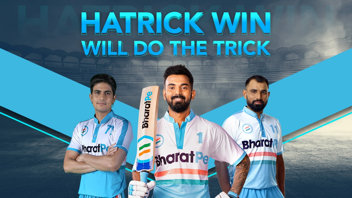 Another Match! Another chance to show how invincible we are!!  #indiancricket #indiaaustralia #TeamBharatPe  #TeamBharatPe #indianteam #indiacricket #shubmangill #cricketstars #cricketfansindia #CricketSeason #cricketers #BusinessGrowth #businessbuddy #UPI #klrahul #shami