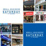 Image for the Tweet beginning: Celebrate Small Business Saturday with