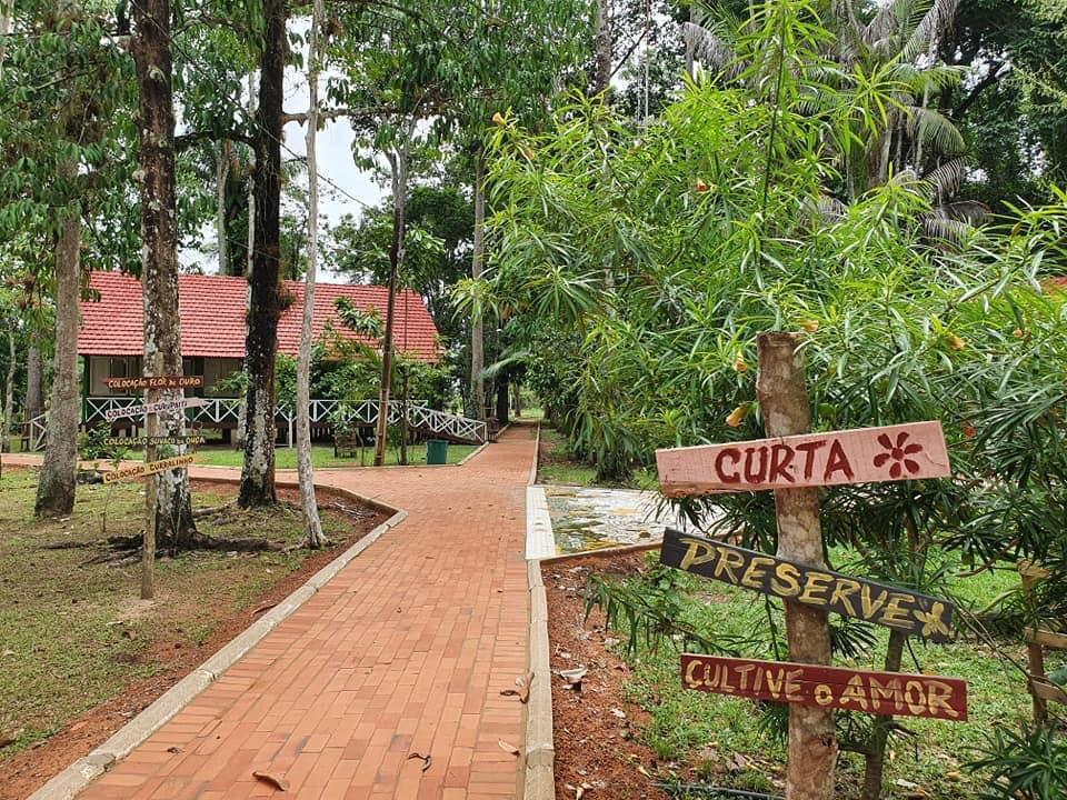 Igarapé do Parque Capitão Ciríaco