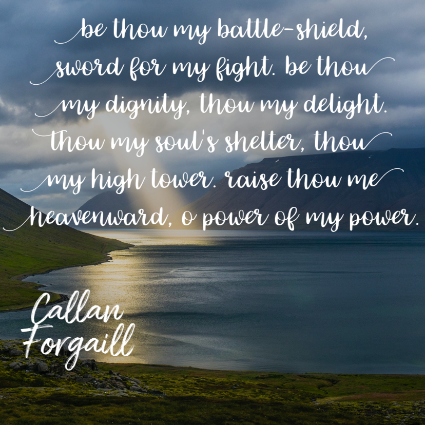 Be Thou my #battleshield #sword for my #fight. Be Thou my #dignity Thou my #delight. Thou my #soulsshelter #thoumyhightower  #raisethoumeheavenward o #powerofmypower. #dallanforgaill #christianity  #hymns #bethoumyvision #heartsmade4more
