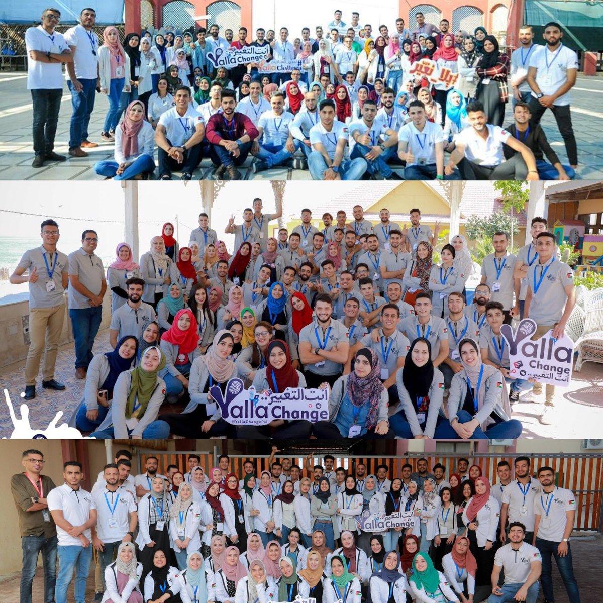 في اليوم الدولي للمتطوعين، كل عام ومتطوعين برنامج Yalla Change بألف خير ❤️  فخورين فيكم وبتمنى دائماً تجمعنا التجارب المميزة بقيادتكم 😎💪🏼  #اليوم_الدولي_للمتطوعين  #YallaChange