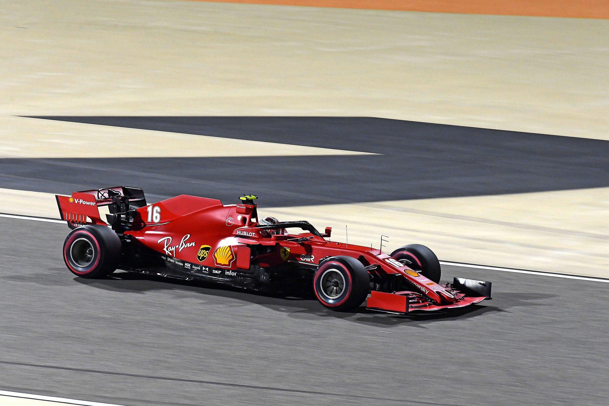 GP Bahrain Penalità Leclerc