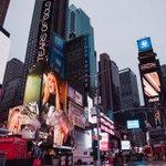 Nuestro último music video en Times Square (NY). @davidbisbal  @carrieunderwood  #timessquare