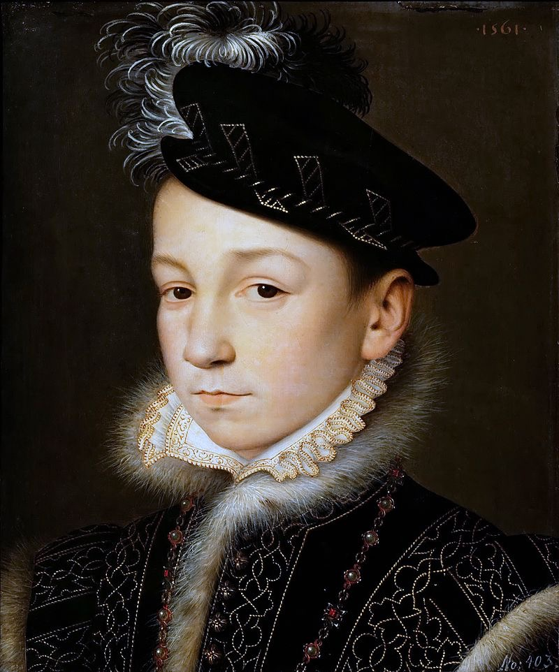 5 Dec 1560: Charles IX becomes King of #France #otd (Kunsthistorisches Museum Wien)