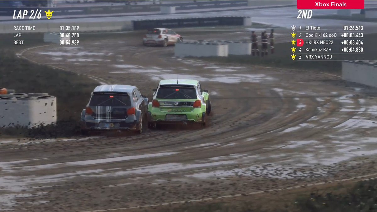 If you were a race steward, what call would you make? 🤔  🏆 #DiRTRally 2.0 World Series | 🎮 DiRT Rally 2.0 | @FIAWorldRX