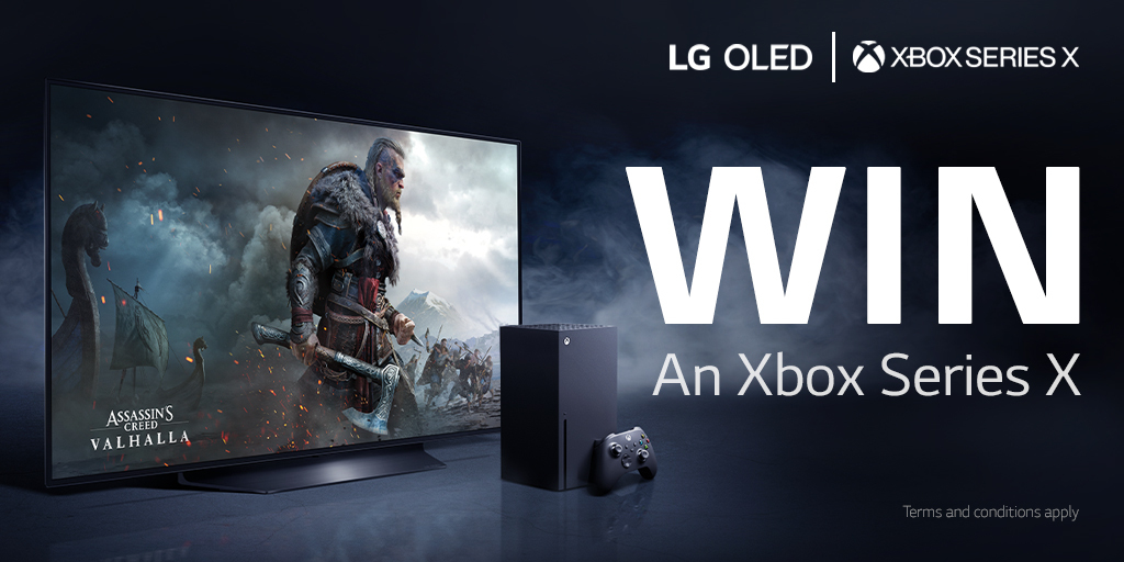 Experience next-gen gaming at its best with LG and @XboxUK. To win 1 of 2 Xbox Series X follow these steps   1. Like & RT this post  2. Tag a buddy and tell us the game you'll play together using the hashtag #LGOLEDxXboxSeriesX  #PowerYourDreams  T&Cs