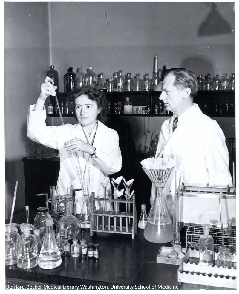 When Carl Cori, born #onthisday in 1896, and Gerty Cori were awarded the 1947 Medicine Prize they became the third married couple to receive a Nobel Prize.  Esther Duflo and Abhijit Banerjee became the sixth couple when they received the Prize in Economic Sciences in 2019.