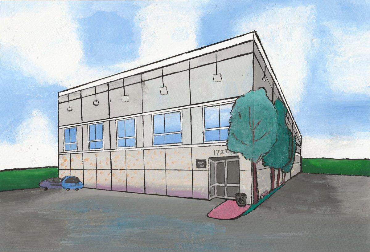 Another recreation of Pam's painting from the office using gouache paints!! 😁💕  @theofficetv @jennafischer @SteveCarell @rainnwilson @johnkrasinski   #theoffice #theofficeedit #theofficeart #art #fanart #painting #watercolor #theofficefan #MichaelScott #artist