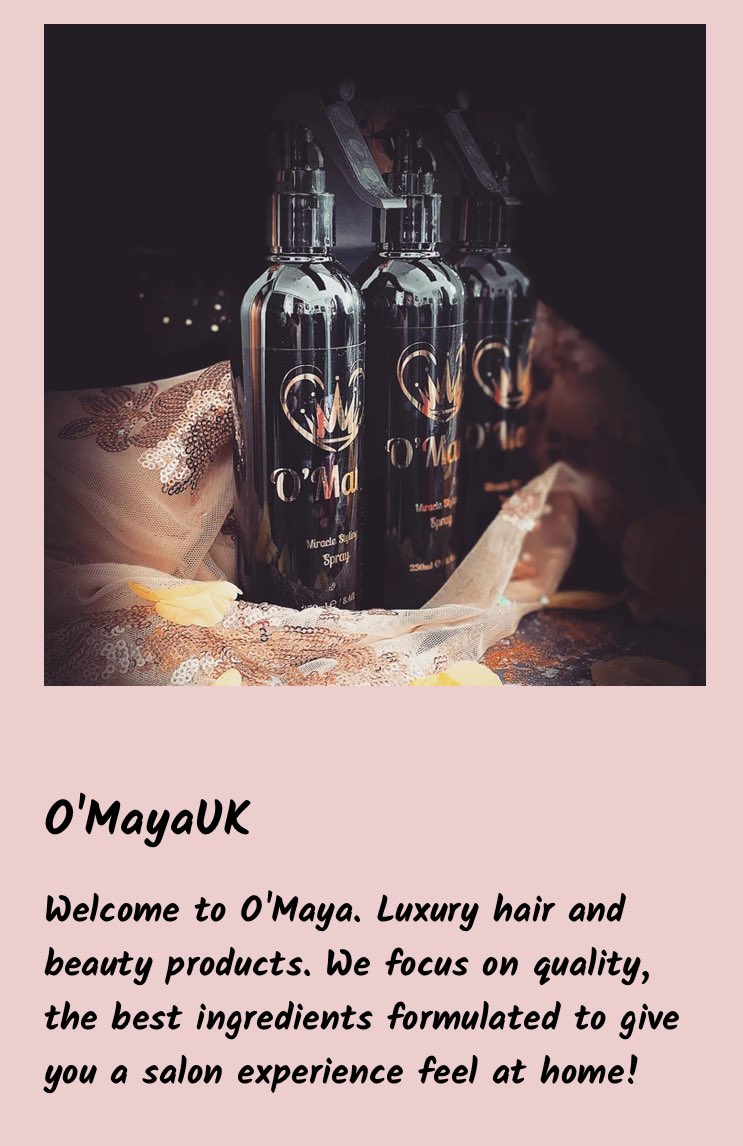 Take a look at our miracle styling spray for all types of hair 😍  #beauty #haircare #BlackOwnedBusiness #style #loveyourhair