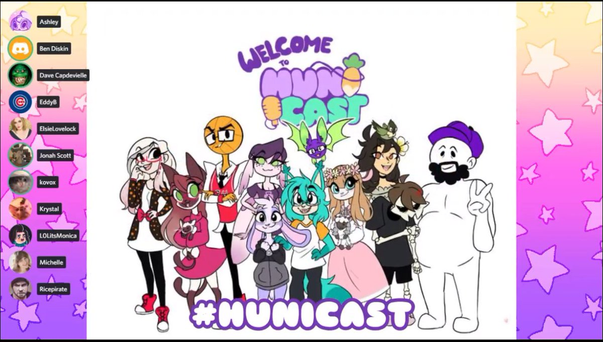 #HuniCast And a perfect shot to end not for the 2 Year Anniversary! I love yall so much and can't wait for more and the signings!! Cheers to more years of the HuniCast!