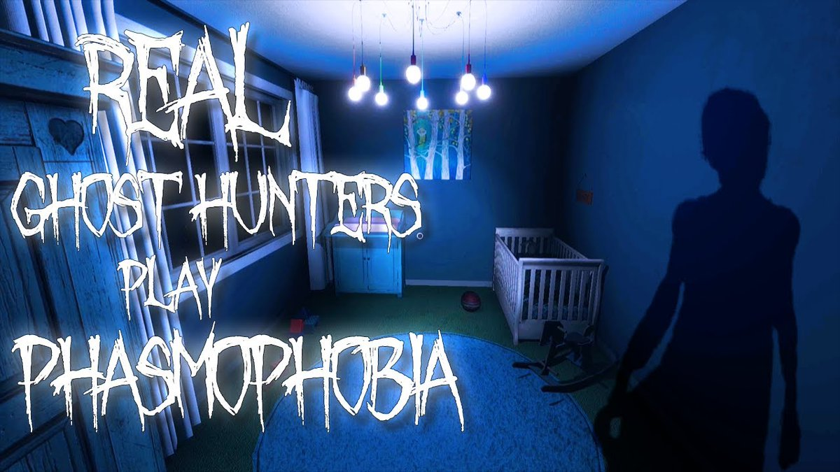 Real ghost hunters attempt to play Phasmophobia.  Link:   #ghost #paranormal #phasmophobia #gaming #youtube #youtubegaming #supportsmallstreamers #yt