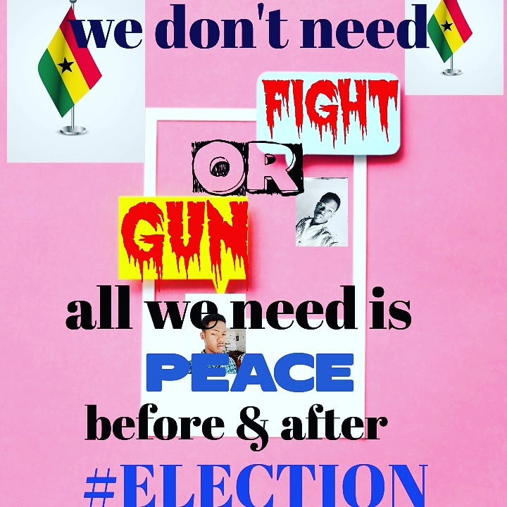 We need #peacefulelection in Ghana #competitions #Ghanaian #Influencer #InfluencerMarketing #tbt #wcw #thailandcaverescuej #nationalpinacoladaday #FridayFeeling #MondayMotivation #tuesdaythoughts #phamousbill #Elections2020 #electionghana ph https://t.co/8TjTgTt9W4