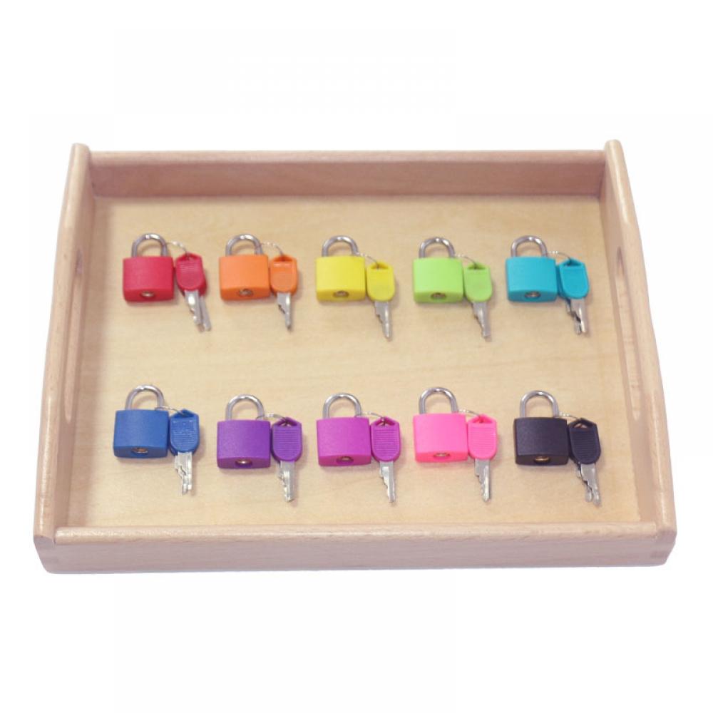 #play #tagsforlikes Kid's Locks Montessori Toy