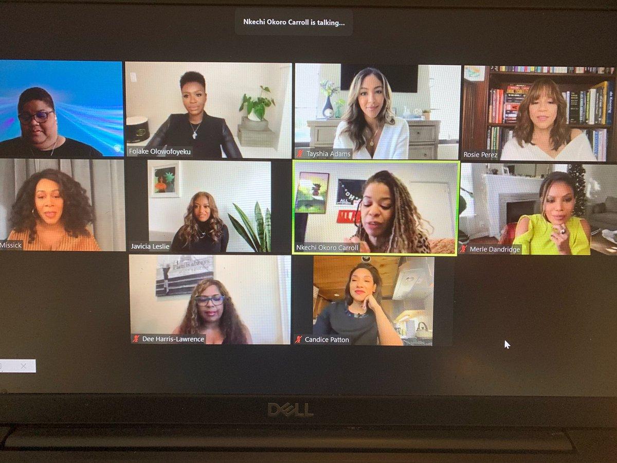 A powerful morning of #BlackGirlMagic. Hats off to these amazing women in television. My heart is full. #naacpwbtvfyc #naacpimageawards #TheFlightAttendant   @RosiePerezBklyn @SimoneMissick  @Kech99  #JunieHarris @DeeHLawrence1 @JaviciaLeslie @CandicePatton @Tayshia