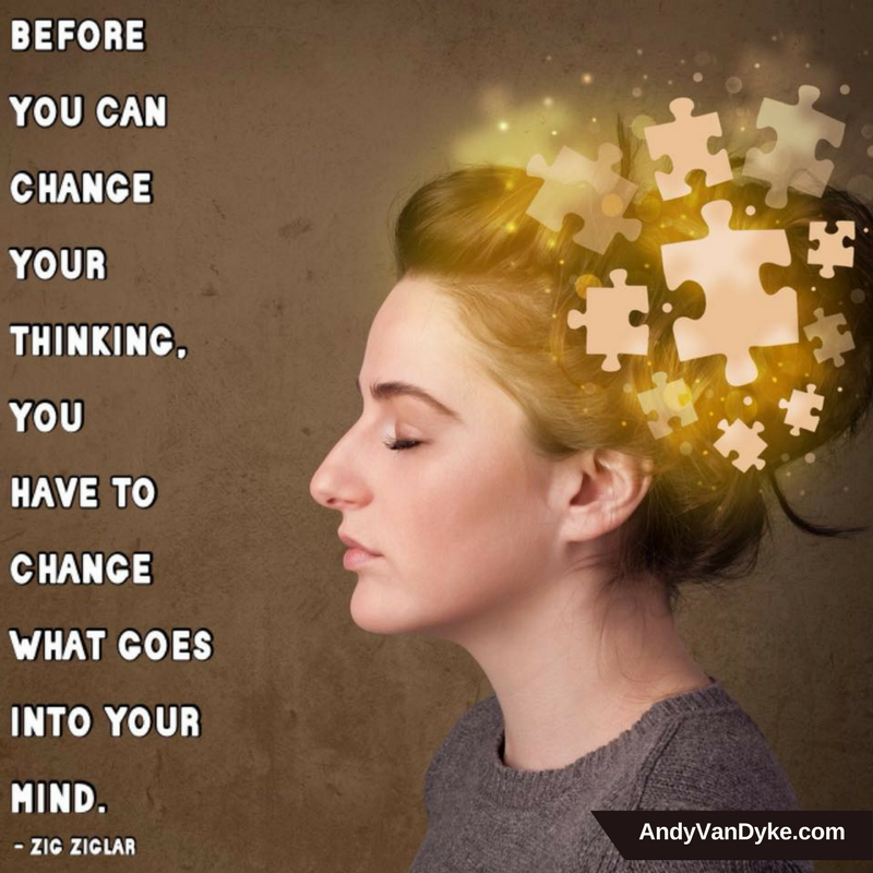 Before you can change you thinking, you have to change what goes into your mind. #PositiveThinking https://t.co/u647CMOcSc