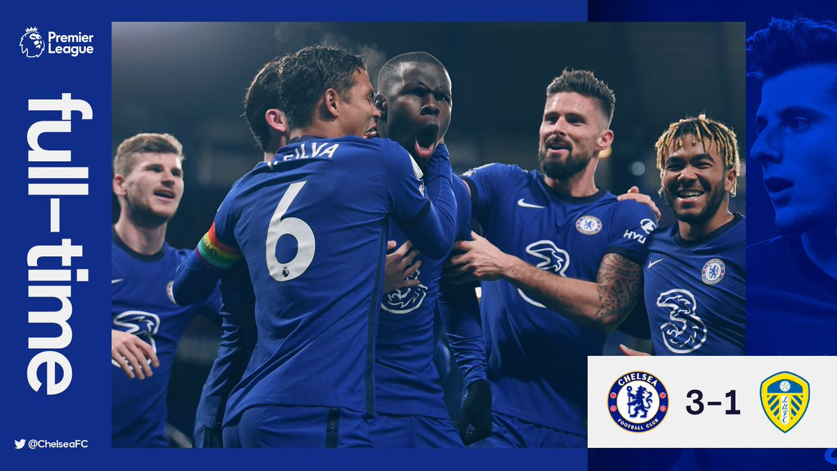 Replying to @ChelseaFC: FT. What a win for the Blues! 👏  #CHELEE