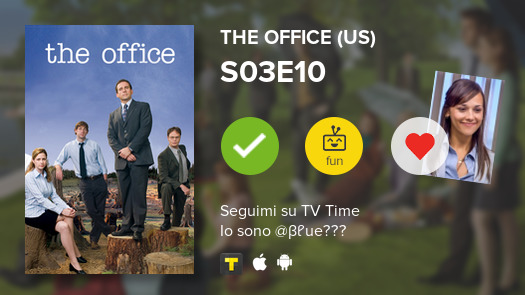 I've just watched episode S03E10 of The Office (US)! #theoffice  #tvtime