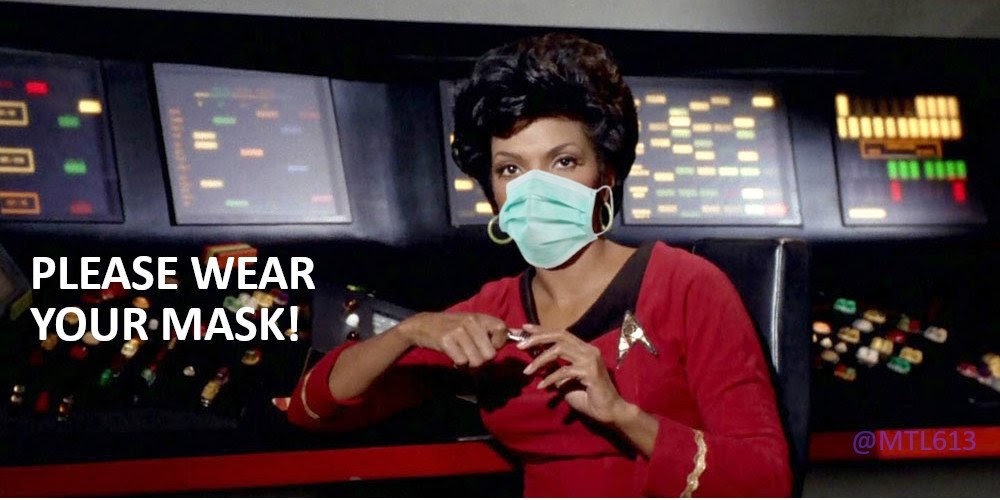 #IWearAMaskBecause   ...  Y'all, if you still need extra reasons at this point, I'm not sure I can help to convince you. 🖖🏾