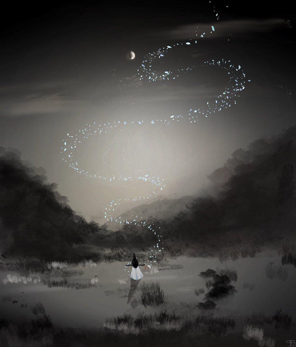 longing for you  #wangxian #mdzsfanart #MDZS #fanart #drawing #digitalart #TheUntamed