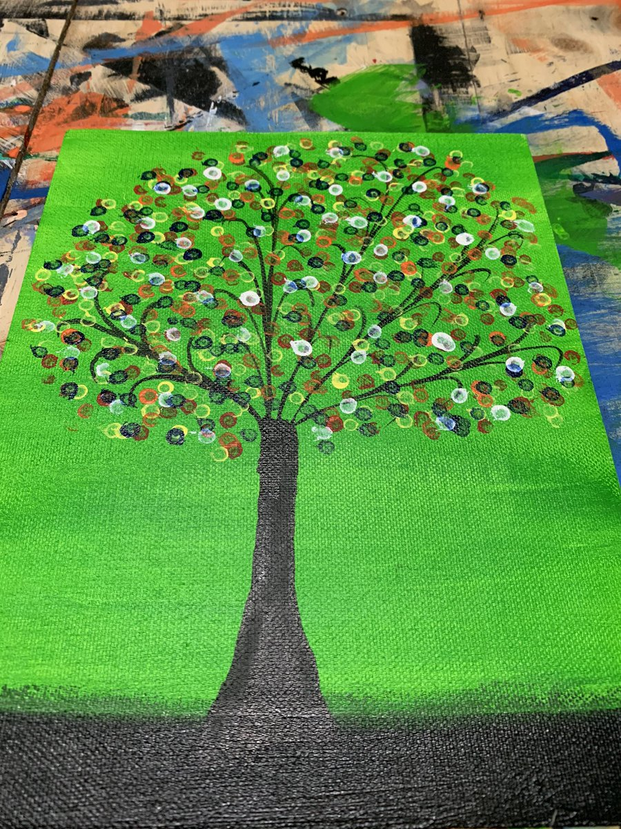 Tree of Hopes @Camlin_Official @Fevicryl1  #ArtAdventCalendar #art #Artist #artistsontwitter #artwork #drawing #painting #PainterOfTheNight #acrylicpainting #canvas #watercolorpainting #artchallenge #artshare #artoftheday #digitalart #Pune #PuneMirror #FarmersProtestHijacked
