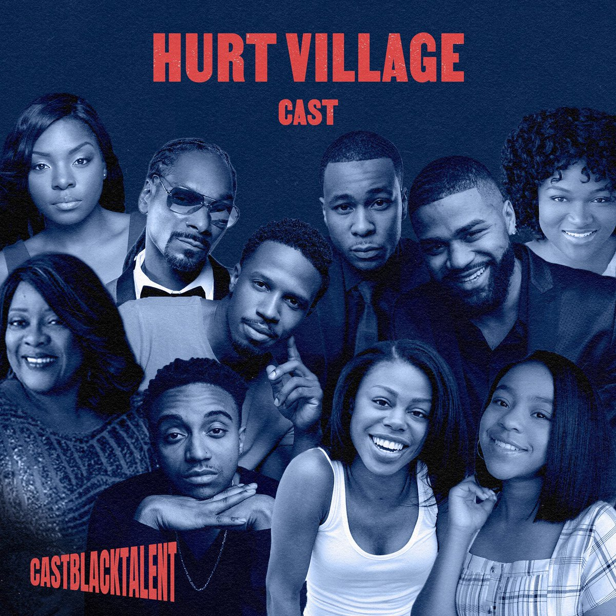 Catch this amazing cast—TODAY thru Dec 8th & Dec 11th—tearin' up that virtual stage to benefit @theactorsfund. Tix at . Honored to have my play #HurtVillage kick off the @castblacktalent virtual reading series! #castblacktalent