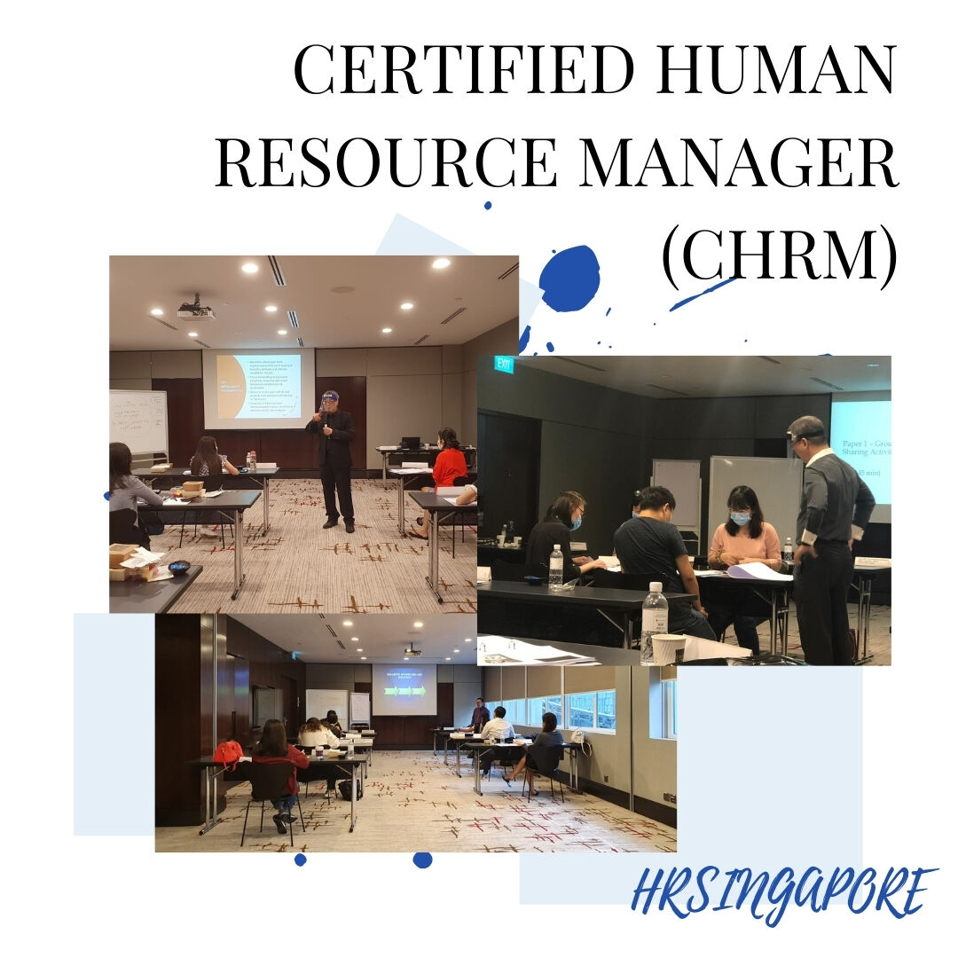 Certified Human Resource Manager - CHRM®   HRSINGAPORE - https://t.co/TqZYsE09gU  #hrsingapore #chrm #hrmanager #workshop #certification #hrcourse #training #hrprofessional https://t.co/Mlce36OoIQ