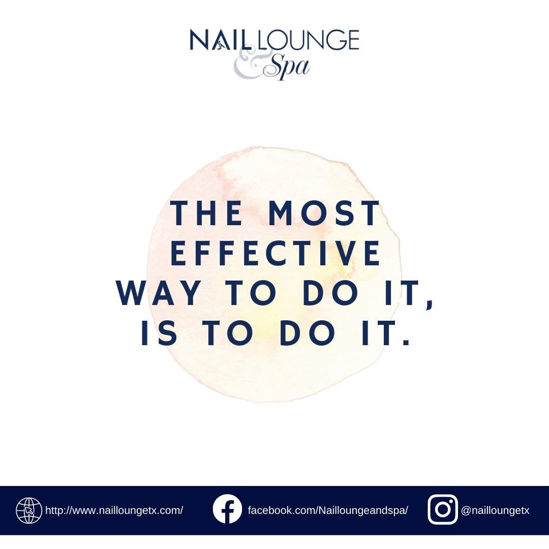 JUST DO IT!✔️  #quotes #inspirational #motivational #advice #nails #salon #nailsalon #beautiful #nailart #design #art #pretty #lookgood #feelgood #manicure #pedicure