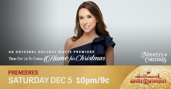 Mystery solved!! Did you guess correctly? Thank you all for watching Time for Us to #ComeHomeForChristmas! See you tomorrow night for the premiere of #ChristmasSheWrote on @hallmarkchannel! @hallmarkmovie @IamLaceyChabert @stephenhuszar @blakeshelton #MiraclesOfChristmas 🎅